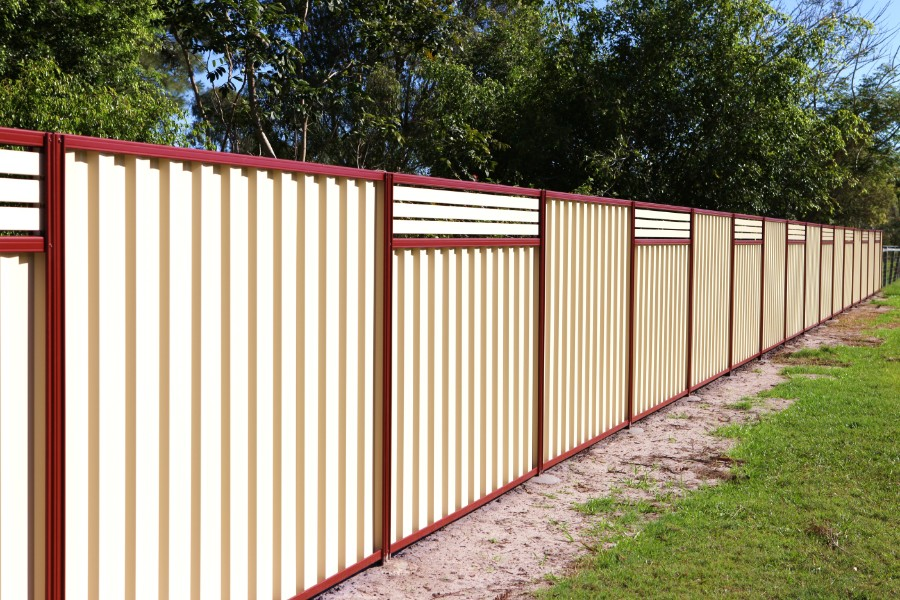 Gallery Colorbond 174 Steel Fencing Sales And Installs For